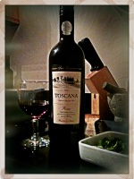 The Wine Corner: Aldi Toscana Rosso paired with Tomato and Bacon Pasta